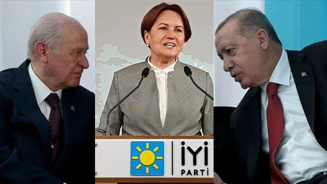 Erdoğan, Meral Akşener'i Cumhur İttifakına davet etti!