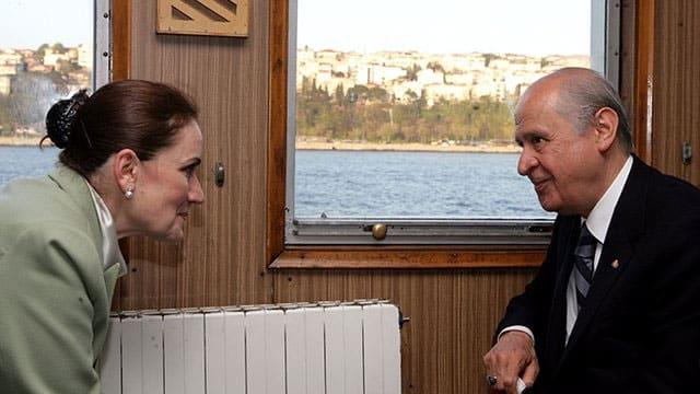 MHP lideri Devlet Bahçeli, Meral Akşener'i MHP'ye dönmeye çağırdı
