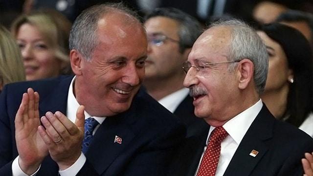 Muharrem İnce Kemal Kılıçdaroğlu