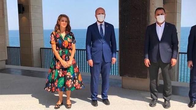 Bilal Erdoğan ile Nagehan Alçı'nın bu fotoğrafı gündem oldu!