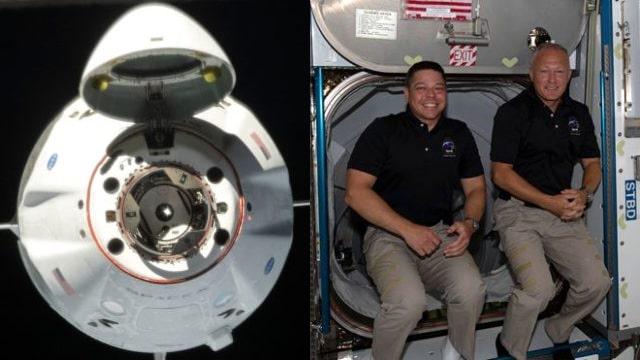 Elon Musk'ın şirketi SpaceX astronotları okyanusa iniş yaptı