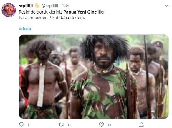 Papua Yeni Gine Kinası TL