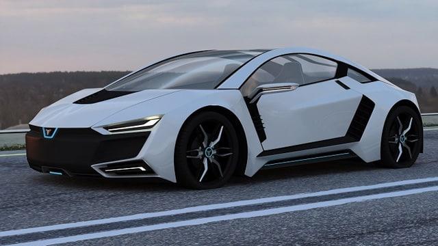 Fatih Kapçak'ın tasarladığı Alphan yerli otomobil tasarımı parmak ısırttı!