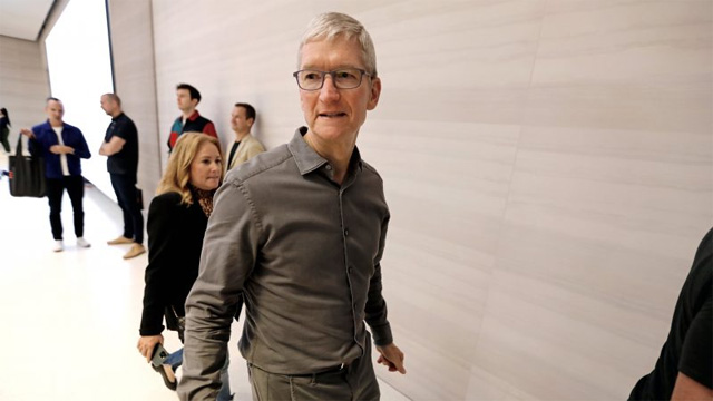Apple'ın CEO'su Tim; Jeff Bezos, Bill Gates ve Mark Zuckerberg