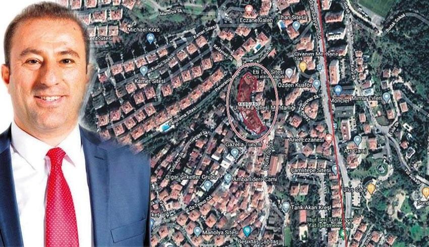 Beşiktaş Belediyesi'nde 400 milyon liralık rant oyunu