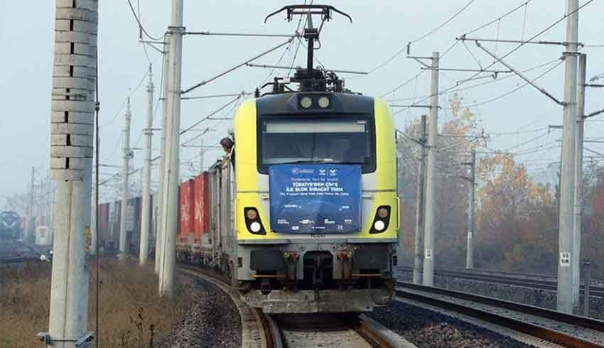 İlk ihracat treni Çin'e vardı…