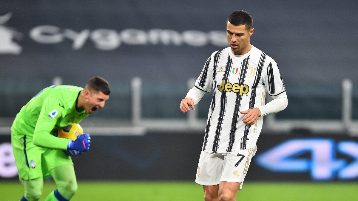 Ronaldo'nun kaçırdığı penaltı, Juventus'u galibiyetten etti