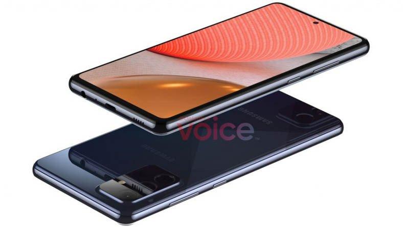 Samsung Galaxy A72'nin Tasarımı Ortaya Çıktı