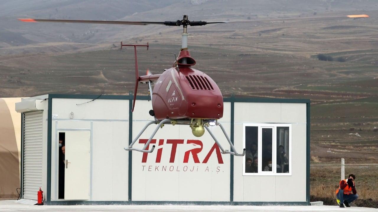 Türk teknoloji şirketi Titra, insansız helikopter geliştirdi