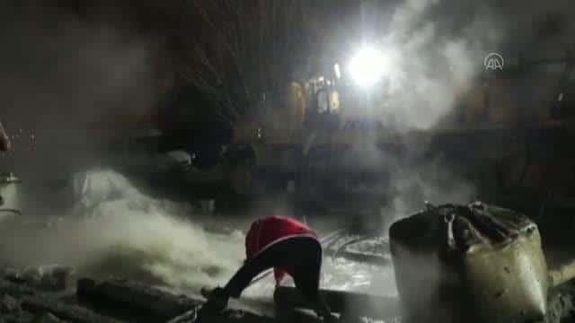 Muş'ta Saniyede 45 Litre Akan 39 Derece Sıcak Su Keşfedildi