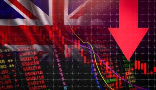 İngiltere Ekonomisi  %2,6 Daraldı
